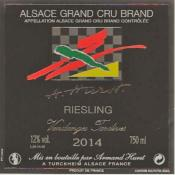 RIESLING VENDANGES TARDIVES 2014 GRAND CRU BRAND